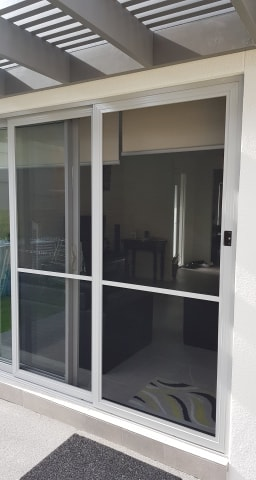 Double Sliding Fly Door